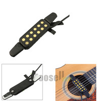 acoustic guitar transducer - Professional Acoustic Hole Sound Pickup Acoustic Guitar Pickup Acoustic Electric Transducer