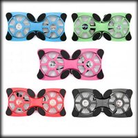 Wholesale by dhl or ems pieces USB Mini Octopus Laptop Notebook Fan Cooler Cooling Pad Folding Coller Fan