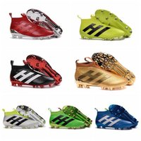 air aces - Boys ACE PureControl Primeknit Firm Ground Football Cleats Shoes Mens High Tops Boots FG Soccer Shoes New Soccer Cleats Football Boots
