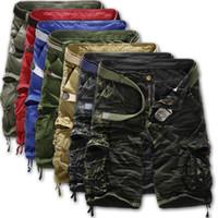 Wholesale New Summer Men s Fashion Leisure Cargo Shorts Loose Multi Pocket Camouflage Pants Men s Casual Pocket Shorts Pants