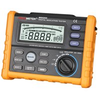 Wholesale PEAKMETER HYELEC MS5205 Digital Insulation Tester with DC AC Voltage Test Continuity Test Digital and Analog Dual Display