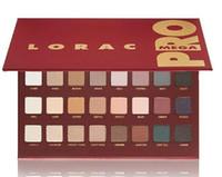 Wholesale Professional Makeup LORAC MEGA PRO Palette Color nake Eyeshadow LORAC Eye shadow Palette Makeup Set cosmetics DHL