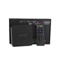 Wholesale Hd network television set top box new MXQ android home television network player TV box