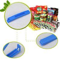 Wholesale 6PCS Food Fresh Plastic Large Food Bag Storage Sealing Clips Ziplock Clip E00099 OST