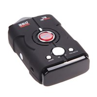 Wholesale New V8 Car Speed Laser Radar Detector GPS Voice Alert Electronic Dog High Quality and can drop ship