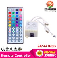 Wholesale Mini IR Remote Controller Ports DC V For RGB SMD Led Strip Wireless Keys Keys