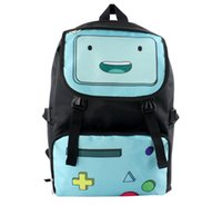 backpack adventure time - Newest Japan Korean Anime Cartoon Cosplay Adventure Time Backpack School College Outdoor Daypack Shoulder Bag For Girl Boy Kids