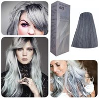 Wholesale NEW BERINA PERMANENT HAIR DYE COLOR CREAM LIGHT GREY