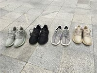 Wholesale 2016 Final Version Boost Casual Fashion Pirate Black Moonrock Tan Oxford Turtle Dove Kanye West Size Outdoor Running Shoes With Box