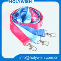 Wholesale 2016 nice custom printed neck lanyards mm size price with