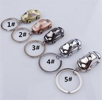 Wholesale 72 mm Tin Alloy Key Rings Metal Creative German Car Key Chain Pendant Personalized Gifts Toys Colors