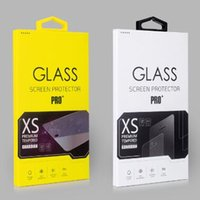 Wholesale Color Box For H D Tempered Glass Screen Protector Retail Box Package packaging boxes for iphone Plus S Plus Samsung S7