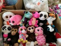 Wholesale TY beanie boos Plush Toys simulation animal TY Stuffed Animals super soft inch cm with tag children gifts Plush Toys