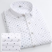 Wholesale 2016 Summer New Fashion Short Sleeve Men s Casual Slim Shirts Printed Man Business Shirts Wash and wear of shirt Colors