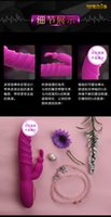 Wholesale Sex Toy Dolphin Vibrates - Dolphin 12 Modes Rabbit G-spot Vibrating & Rotation Body Massager Vibrator, Women Sex Toys Adult Products