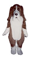 bassett hound - Bassett Hound Mascot Costume Fursuit Adult Size Realistic Bassett Dog Mascotte Carnival fancy dress kits for school party holiday