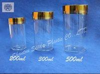 aluminium capsule - 5PCS top sale pill plastic bottle for medicine aluminium screw cap bottle ml capsule bottle