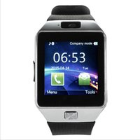 Acheter Téléphones cellulaires concepteur-Montres Smart Watches MTK6260 Smartwatches avec télécommande Répondre Call Smart Watch pour Android téléphone portable DZ09