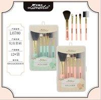 america latin - Portable makeup brush set makeup brush set in Latin America beauty cosmetics makeup tools L0780
