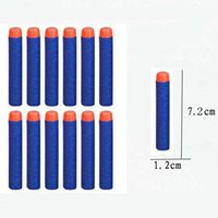 Wholesale 100pcs cm Refill Darts for Nerf N strike Elite Series Blasters Kid Toy A00070 SMAD