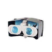 Wholesale Mini Portable Foldable D Glasses Virtual Reality VR Box Handheld ABS Plastic for All Smart Phone Adjustable