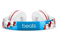 Wholesale Great Refurbished hello kitty Beats Solo2 Headphone Active Collection HD Stereo Wired Mobile Cellphone Solo Earphone Headset