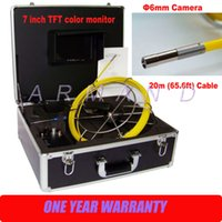 Wholesale Industrial Endoscope Small sewer pipe inspection camera mm camera head inch Monitor
