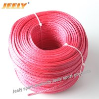 Wholesale mm strand kg Uhmwpe wakeboarding rope towing winch rope hollow braid