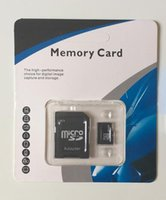 Wholesale Micro SD Card Class UHS I SDXC C10 Memory Card TF Card With SD Adapter For Samsung S5 Note4 with retail package