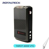 batch offering - First batch Vaporesso TAROT w TC VW box mod Temperature control Tarot W from vaporesso for Griffin RTA vs target w vtc STOCK OFFER