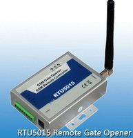 Wholesale Authorized users GSM Gate Garage shutter Door Opener Operator with SMS Remote Control MHz Output Inputs RTU5015