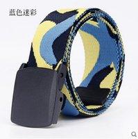 allergy belt - Camouflage canvas belt men s belts youth leisure belt automatic buckle belt anti allergy belt Fine canvas Size can be cut