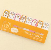 Wholesale Hot Sale Promotional Pocket Colorful Cute Sticky Notes Cartoon N Times Post It Notes Sticky Note