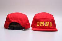 Wholesale Short Hat Army Caps - newest shipping 5 panel short Brimmed hat camp solid skateboard street Cotton snapback baseball hats Diamond hip hop caps men women cap
