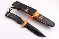 bell fix - raeB erbreG GRYLLS GB Bear Bell survival series ultimate pro fixed blade folding knife knives freeshipping