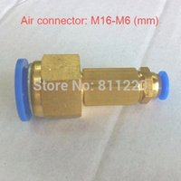 Wholesale Air pipe connector fitting pair mm to mm Airtac pneumatic parts air hose connector