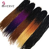 Wholesale Havana Mambo Twist Crochet Braid Hair quot grams ombre jumbo braid hair Synthetic Ombre Kanekalon Braiding Hair Extension