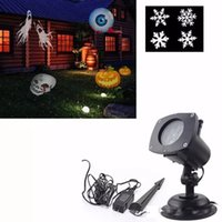 Wholesale 12in1 Replaceable Films Decorative LED Halloween Stage Lights Projector Lamps Outdoor Lighting Decoration for Christmas Party Wedding