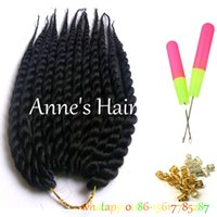 Wholesale Kanekalon synthetic braiding hair havana mambo twist crochet inch single jumbo braids hair extensions more colors