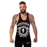 V-Neck aerobics men - Men s Printed Loose Beauty Bodybuilding Gym Fitness Tank Tops Aerobics cotton undershirt For Men Muscle Sleeveless T shirts Workout Vests