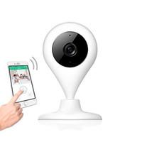 Moniteur de caméra de bébé chaud 720P Caméra de surveillance Vision nocturne Talk 2 way Vidéo en temps réel 360 Rotation wifi caméra Max 64G