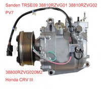Wholesale Sanden TRSE09 TRSE07 ac compressor for Honda CRV III MK III L L RZVG01 RZVG02 CO AC