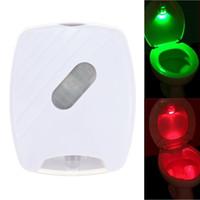 Wholesale LED Human Motion Activated PIR Light Sensor Bathroom Toilet Lamp LED Night Light motion activated light motion AA Battery Operated lamp