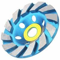 Wholesale 100mm inch Diamond Grinding Concrete Cup Wheel Disc Concrete Masonry Stone