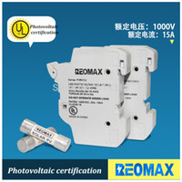 Wholesale 4pieces PV Solar Fuse A V DC Fusible x38 gPV with Solar PV Fuse Holder