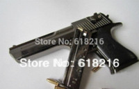 Wholesale metal black Desert Eagle gun toy handgun model gift for boys