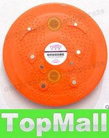 Wholesale LAI Twist Waist Torsion Disc Board Aerobic Exercise Fitness Reflexology Magnets Blue Orange Purple Twist Plate Twist Boards