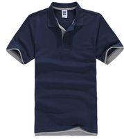 Wholesale 2016 summer New Men s Brand Polo Shirt For Men Designer Polos Men Cotton Short Sleeve shirt sports jerseys golf tennis