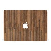air floor pro - Dark Oak Wood Floor Texture Top Vinyl Front Cover Laptop Sticker For Apple Macbook Air Pro Retina inch Laptop Decal Skin