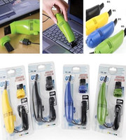 Wholesale BUCA Computer Vacuum Mini USB Keyboard Cleaner Laptop Brush Dust Cleaning Kit